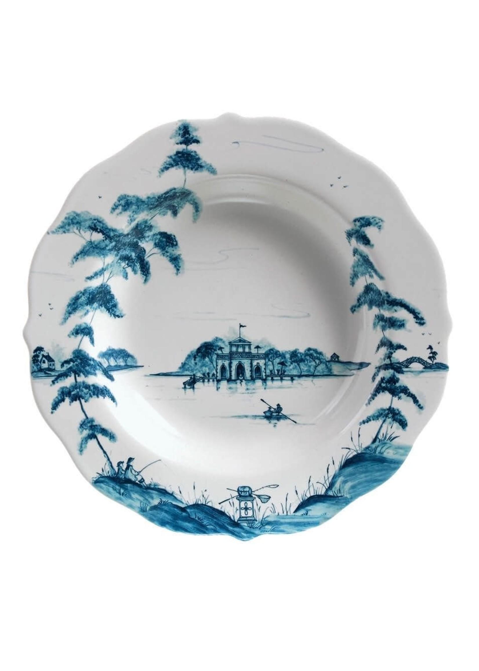 Juliska Country Estate Delft Pasta/Soup Bowl Boathouse