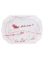 Juliska Country Estate - Ruby - Gift Tray - Winter Frolic - Joy to the World