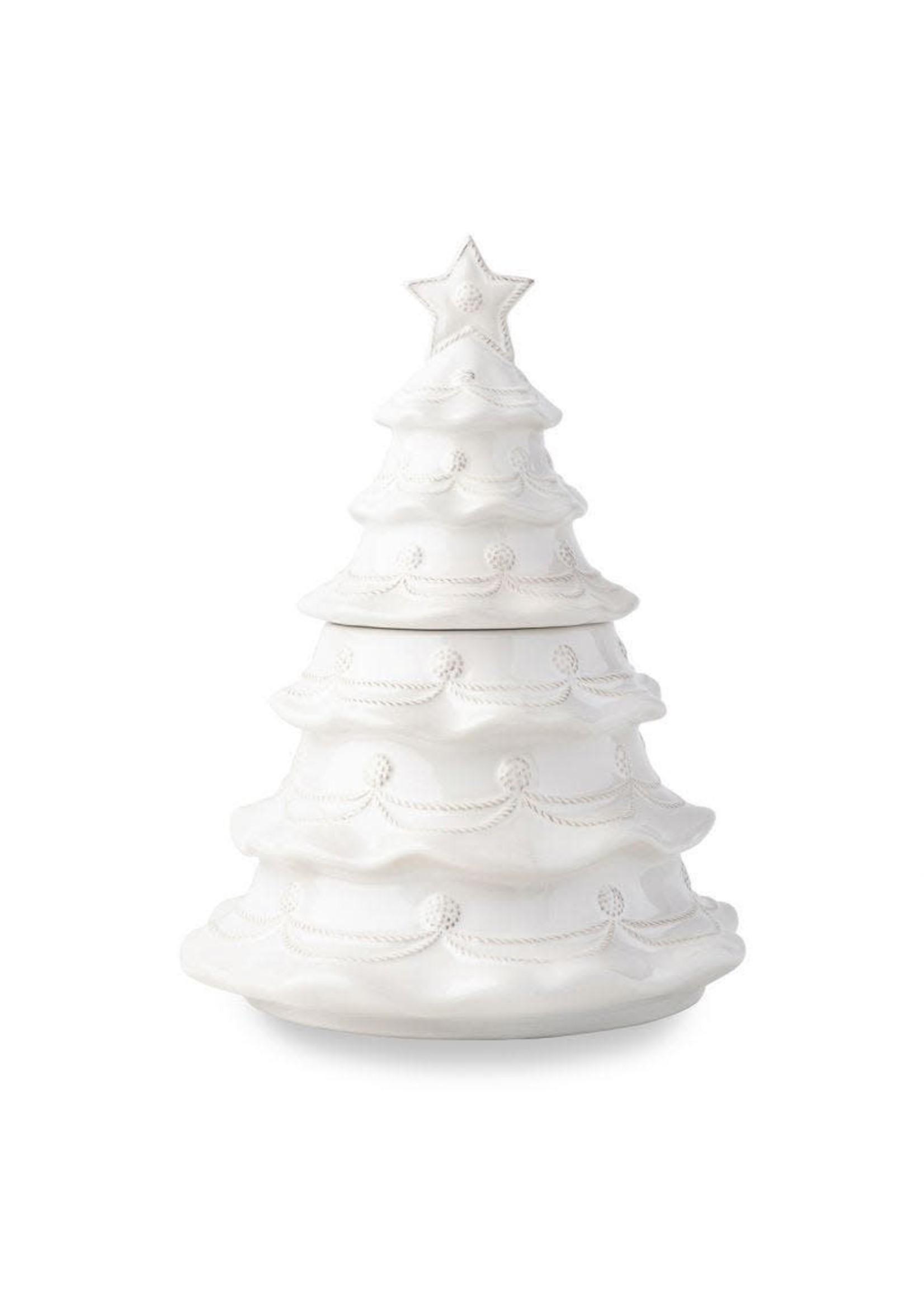 Juliska Berry & Thread Christmas Tree Cookie Jar
