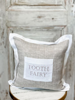 Crown Linen First Tooth/Tooth Fairy Pillow