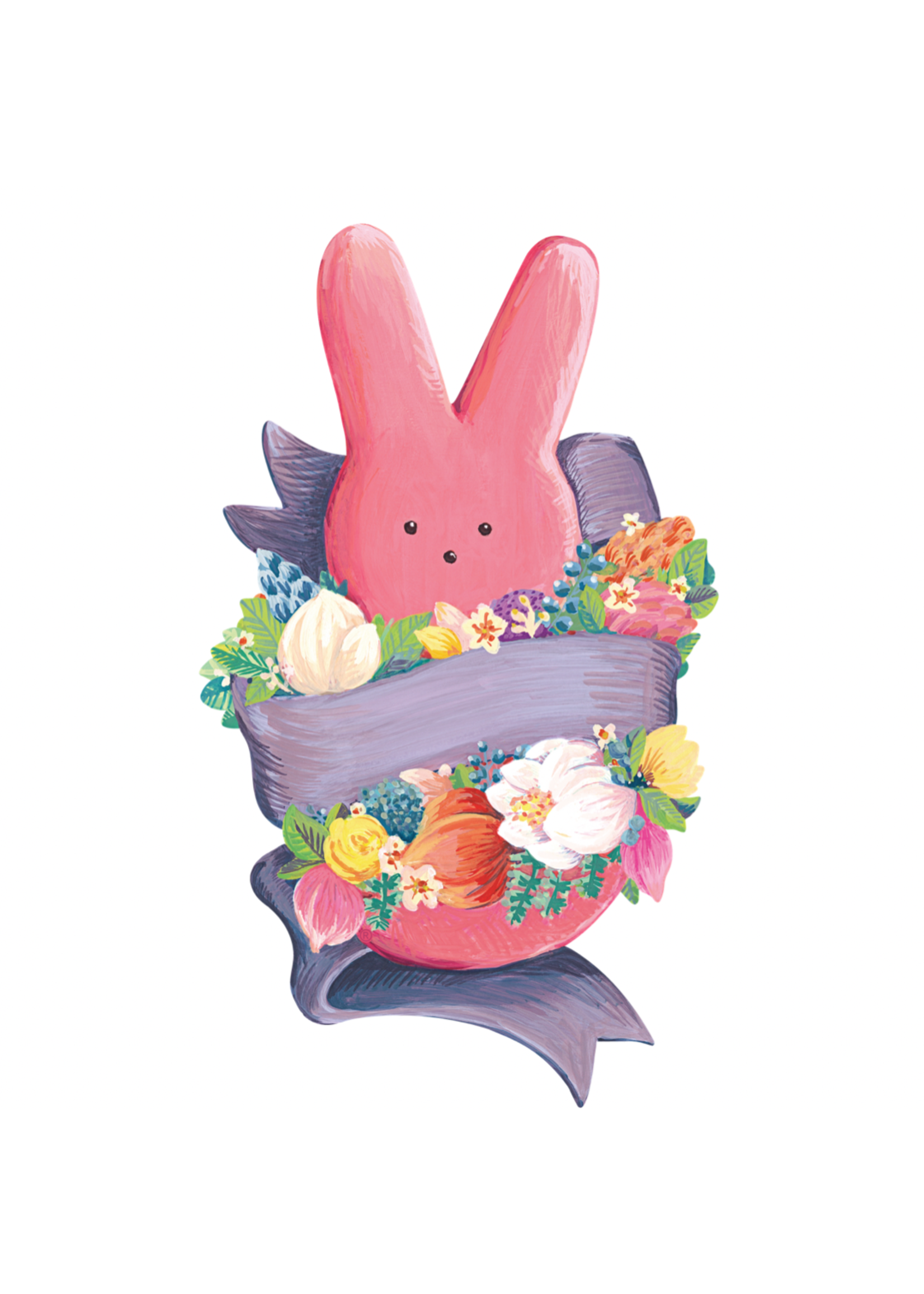 Hester & Cook Table Accents - PEEPS Bunny (pack of 12)