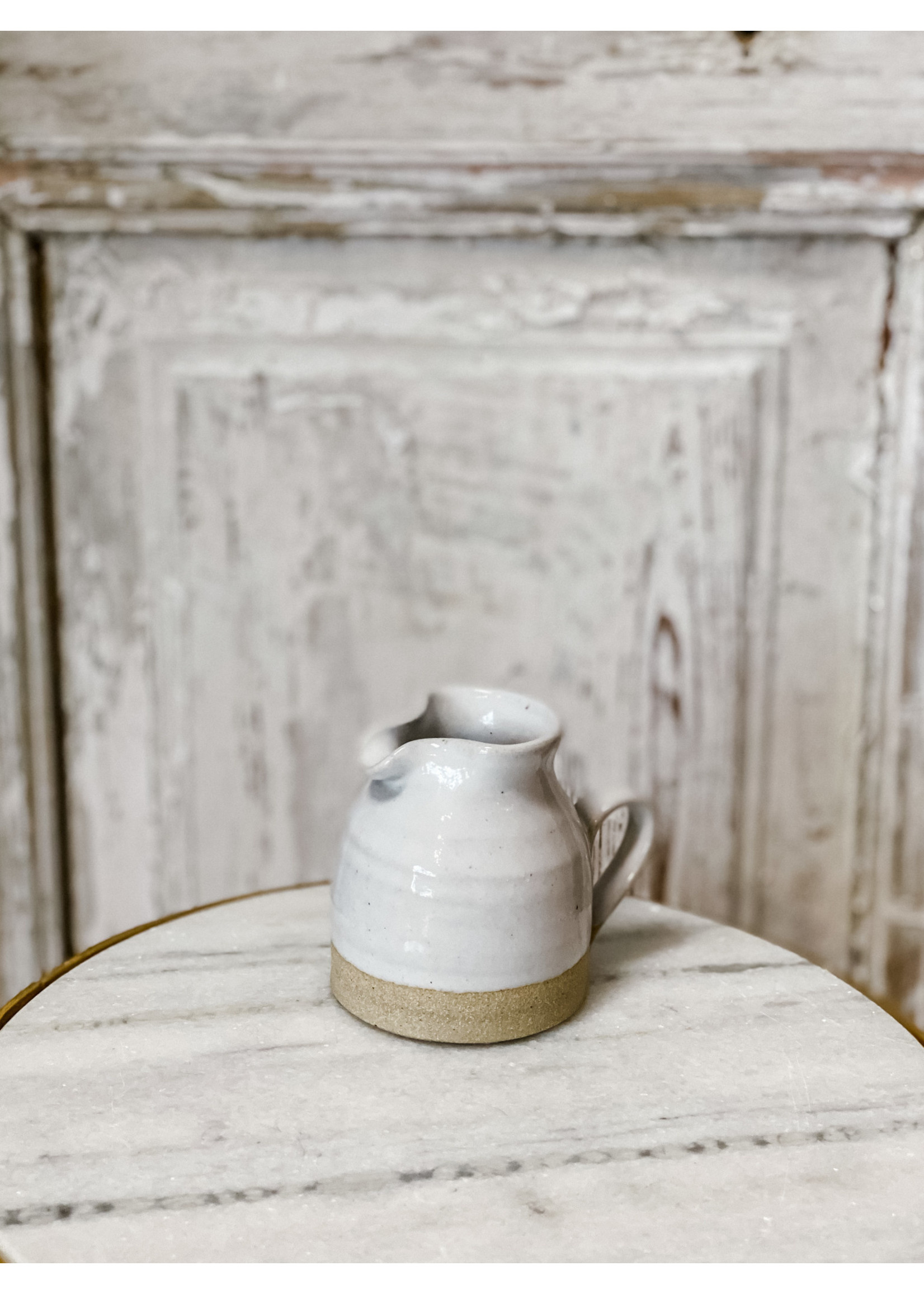 Farmhouse Pottery Bell Pitcher - Baby Bell