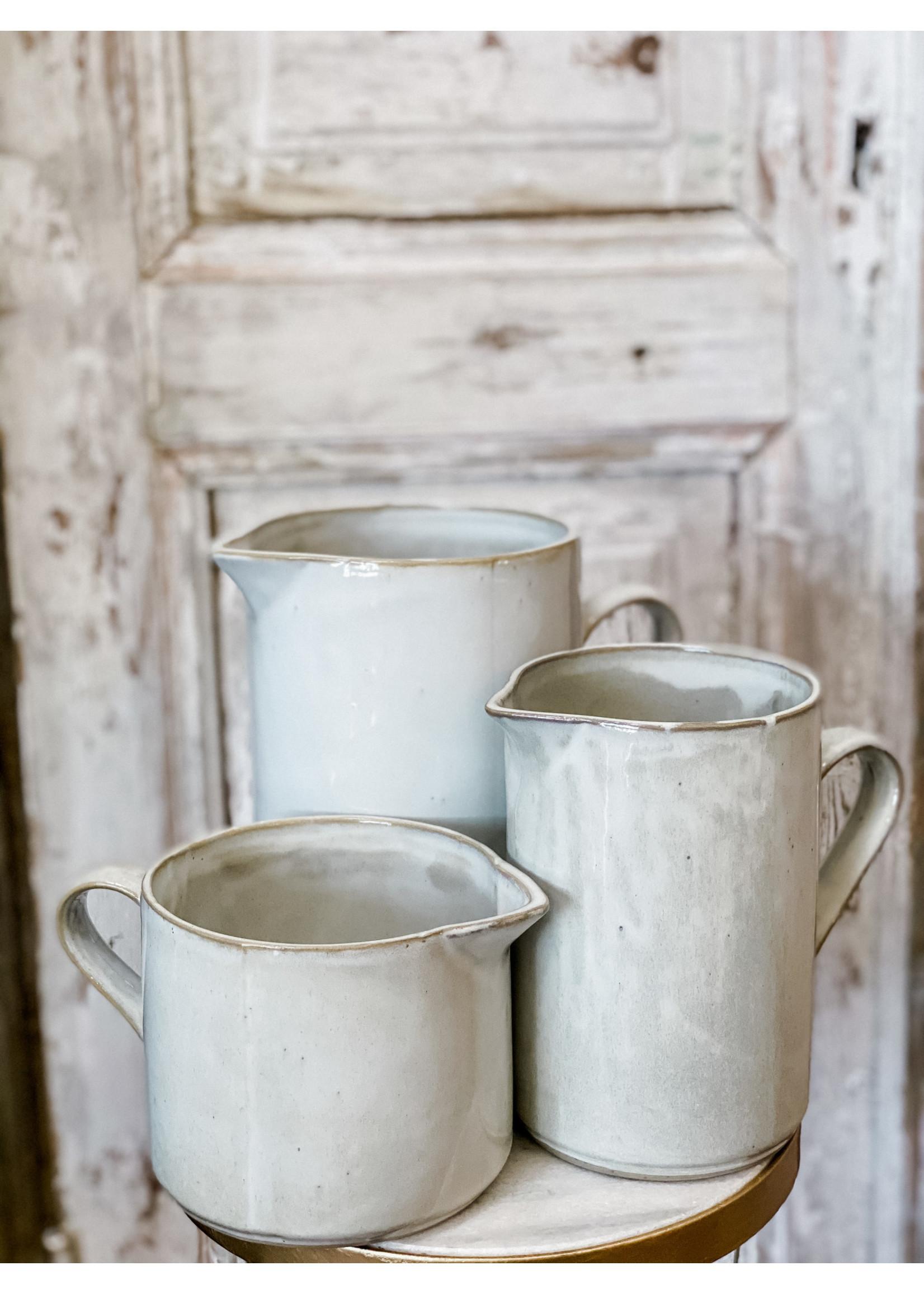 Yarnnakarn Ceramic Rustic Low Pitcher