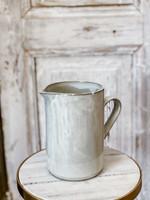 Yarnnakarn Ceramic Rustic Tall Pitcher