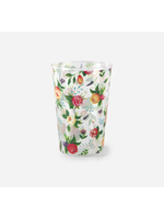 Floral Juice Glass