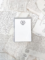 Monogram Cards - B (set of 6)