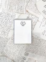 Monogram Cards - C (set of 6)