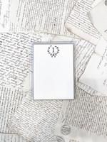Monogram Cards - I (set of 6)