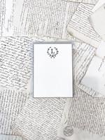 Monogram Cards - L (set of 6)