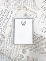 Monogram Cards - O (set of 6)