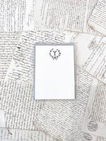 Monogram Cards - Y (set of 6)