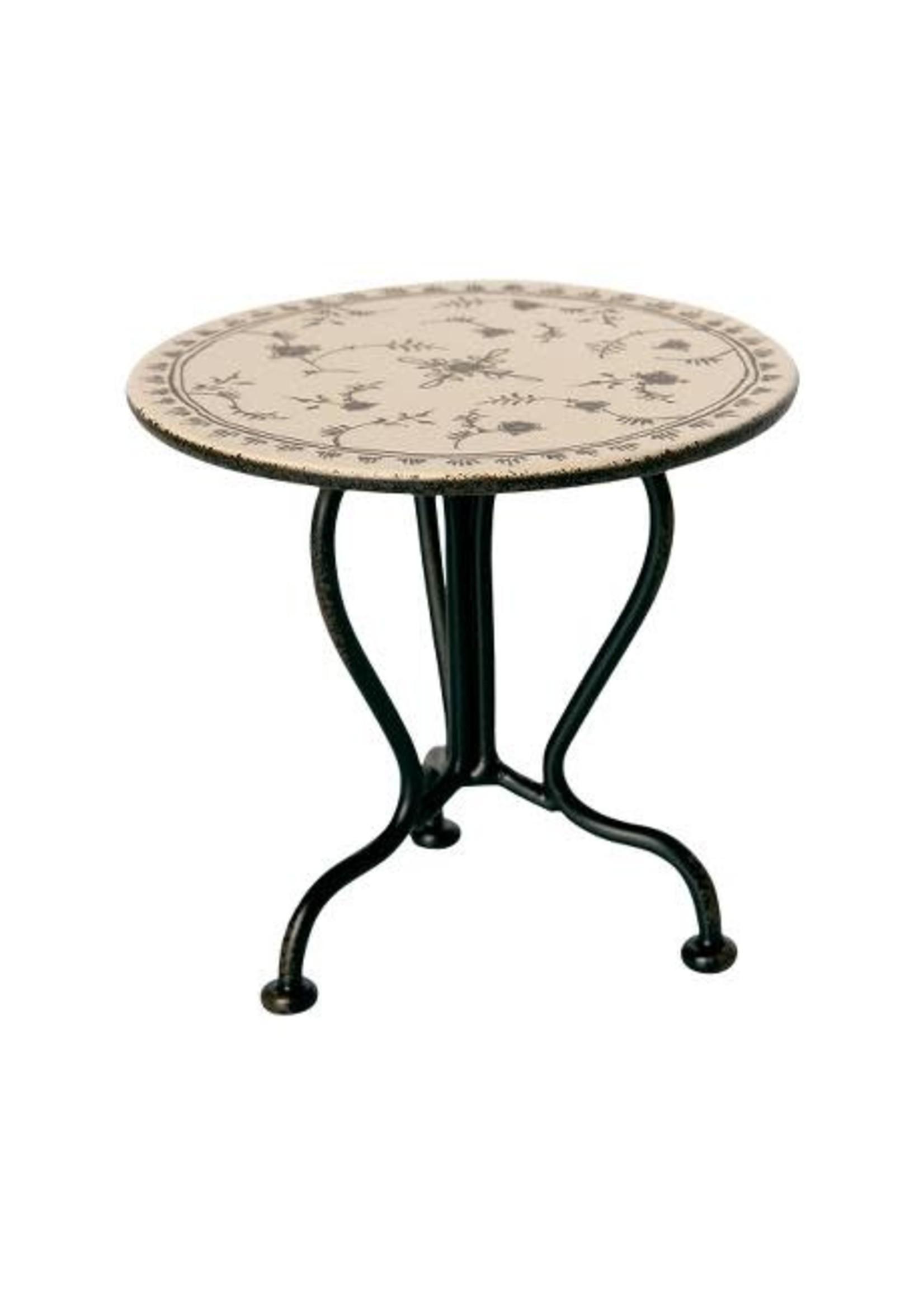 Maileg Vintage Tea Table - Micro (black)