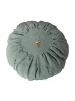 Maileg Cushion - Round - Dusty Blue