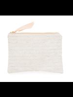 Pouch - Flax Stripe