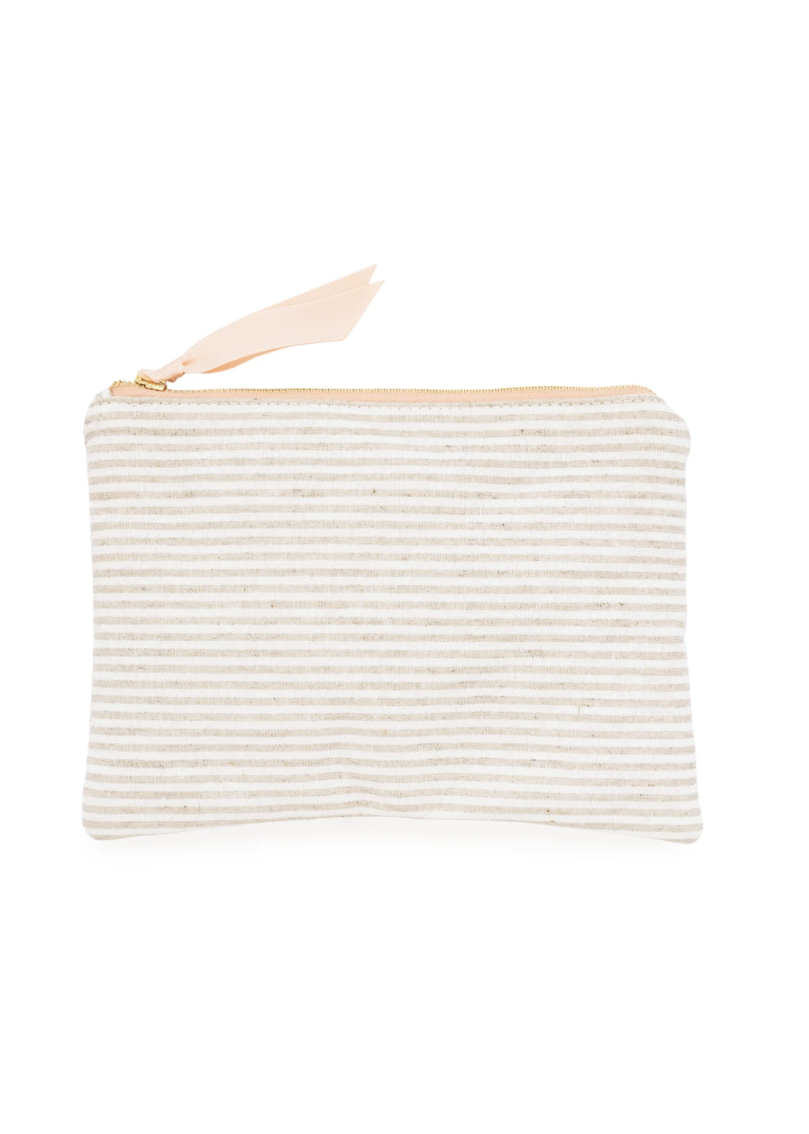 Sugar Paper Pouch - Flax Stripe