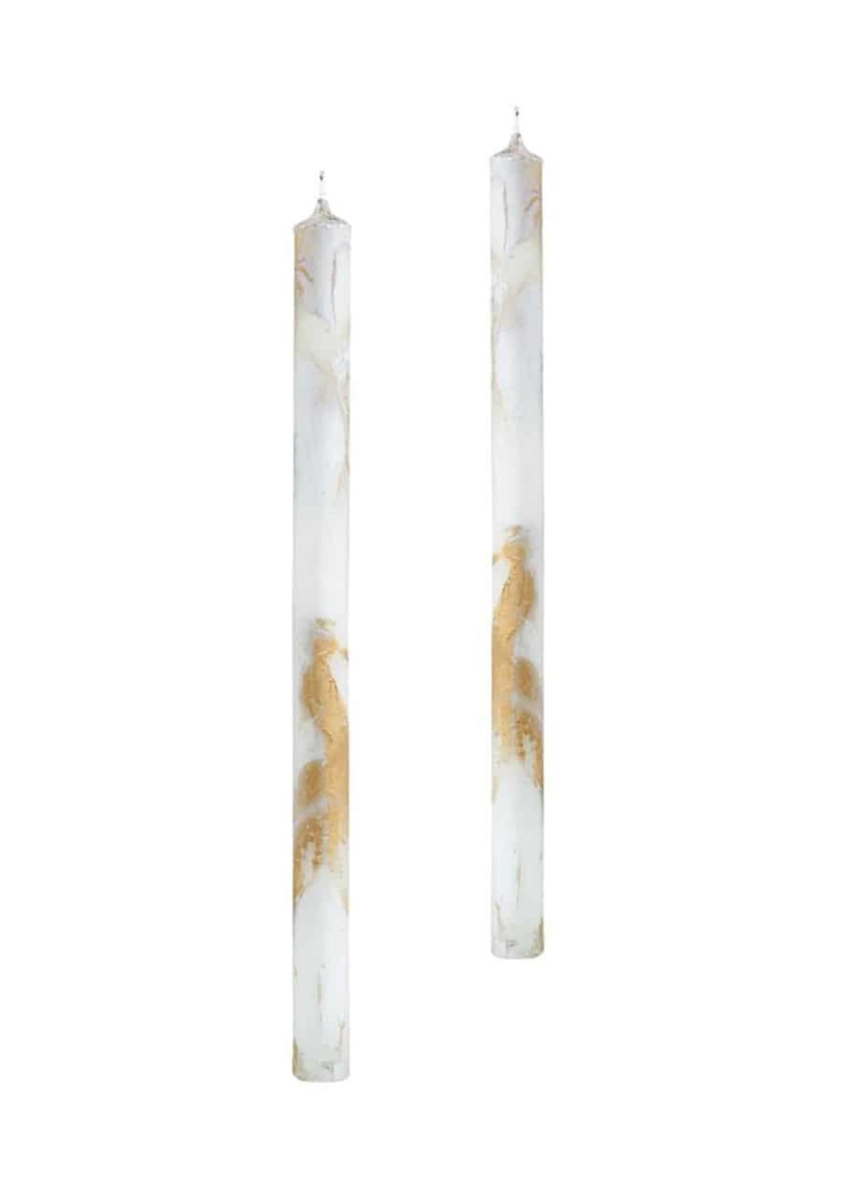 Jingle Nog Candle Bianco (set of 2)