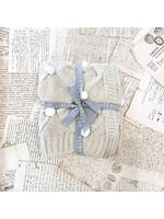 Baby Blanket - Pom Pom Oatmeal & Ivory
