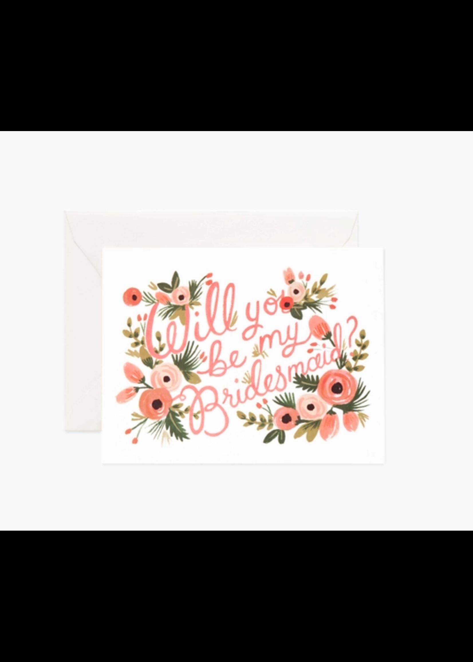 "Rifle Paper Co. Card - ""Bridesmaid"""