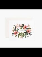 """Rifle Paper Co. Card - """"Congrats"""" Bouquet"""