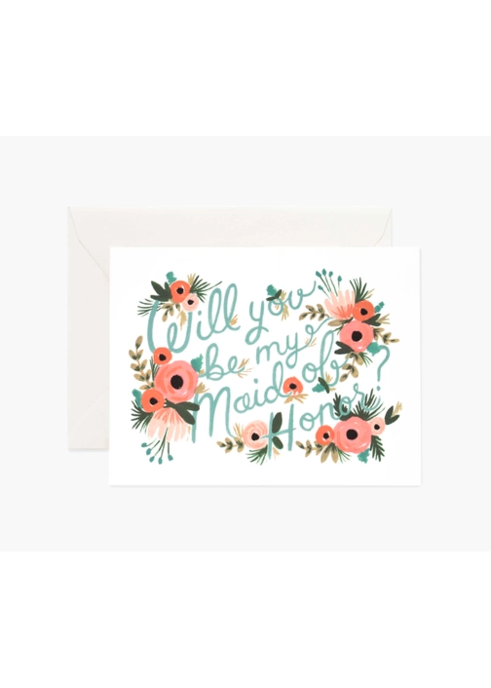 "Rifle Paper Co. Card - ""Maid of Honor"""
