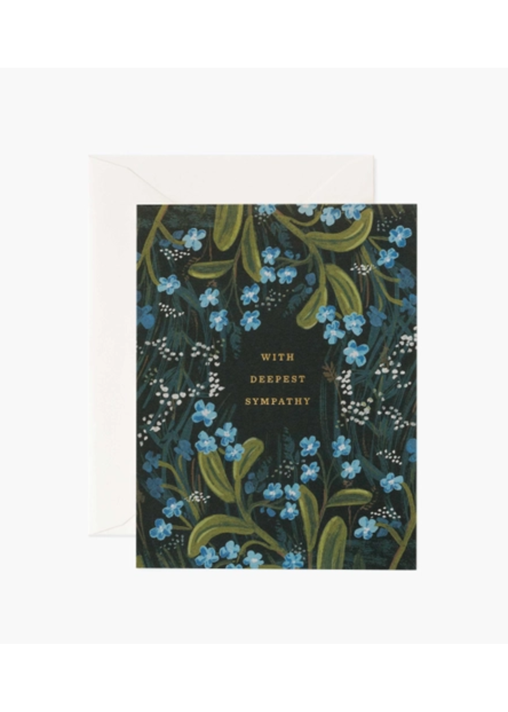 """Rifle Paper Co. Card - """"With Deepest Sympathy"""""""
