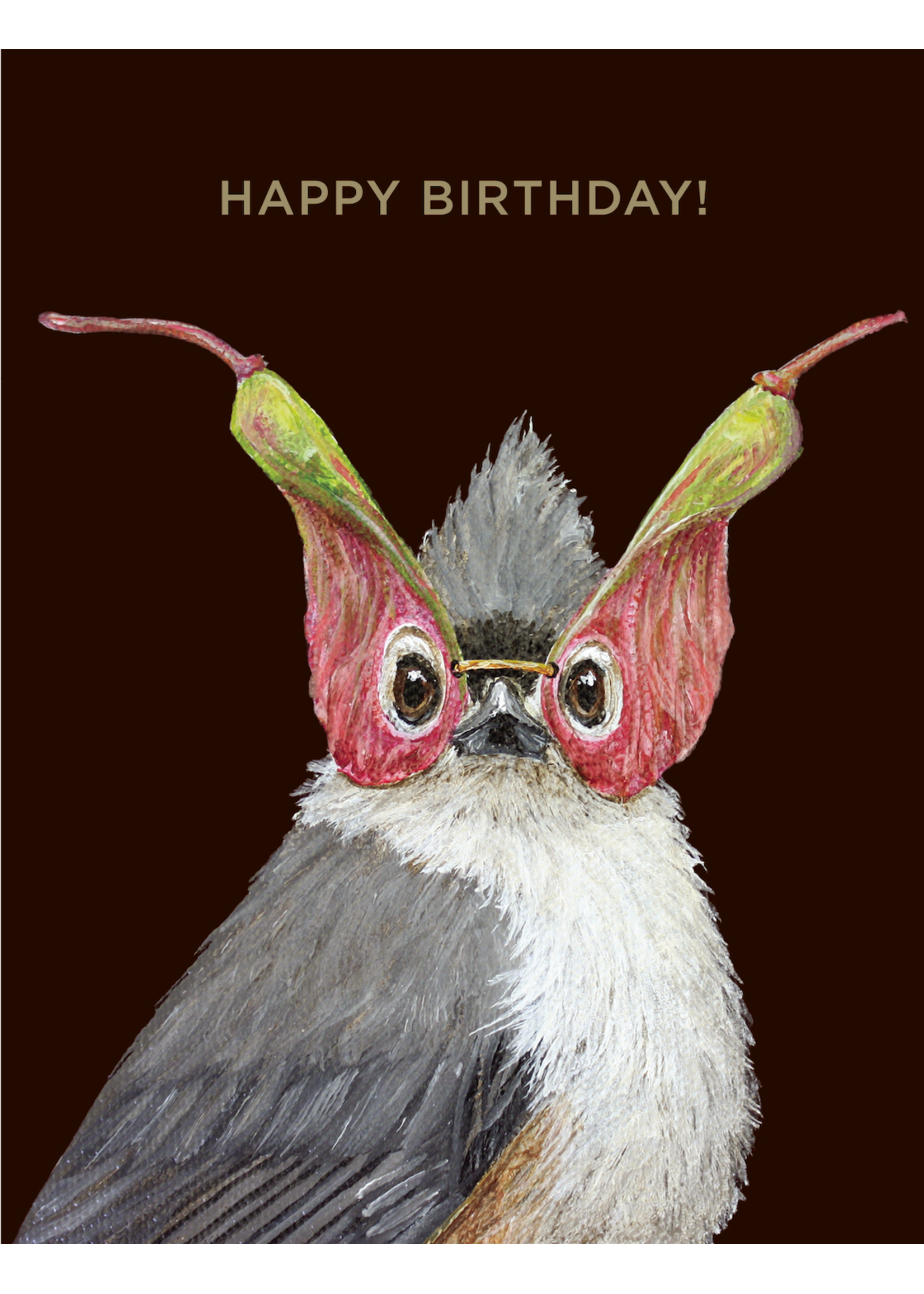Hester & Cook Card - Birthday Titmouse