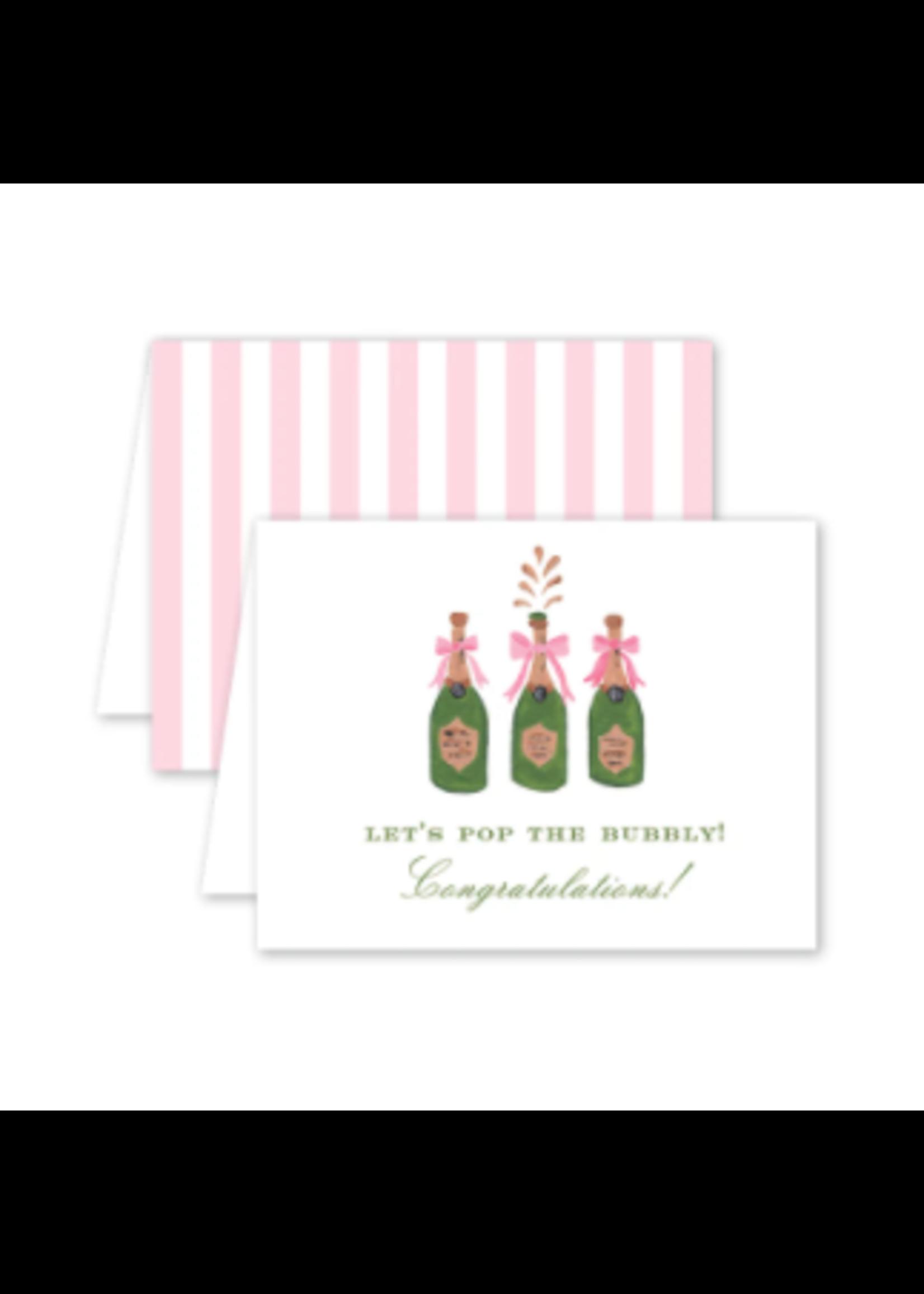 Dogwood Hill Card - Champagne Congrats