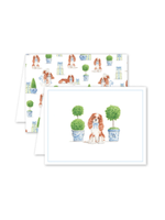Dogwood Hill Card - Dash Topiary and Toile