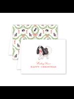 Dogwood Hill Card - Dash Tricolor Christmas