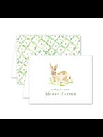 Dogwood Hill Card - Garden Tales Bunny