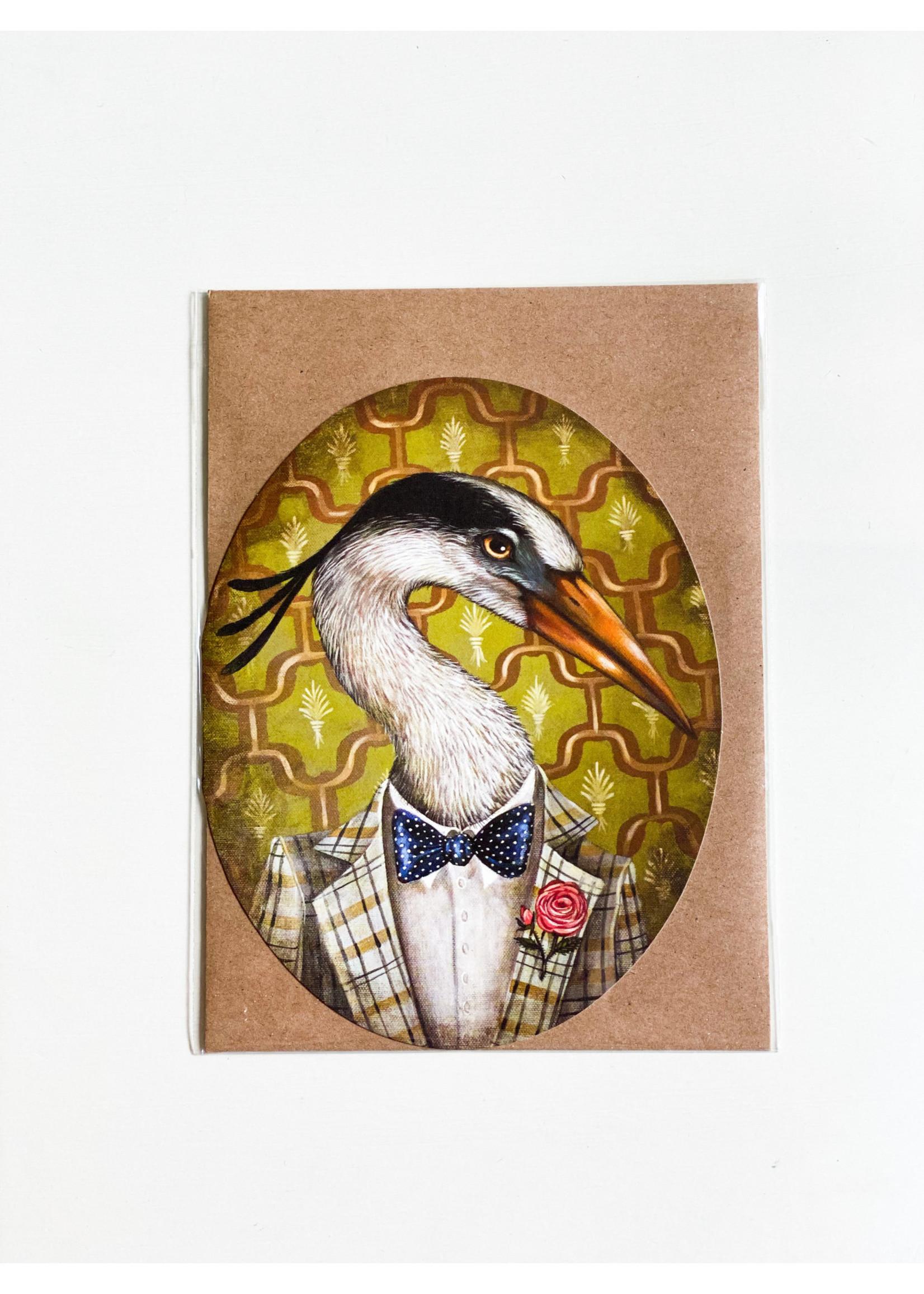 Hester & Cook Card - Mr Franklin B Heron