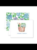 Dogwood Hill Card - Nantucket Hydrangeas Thank you