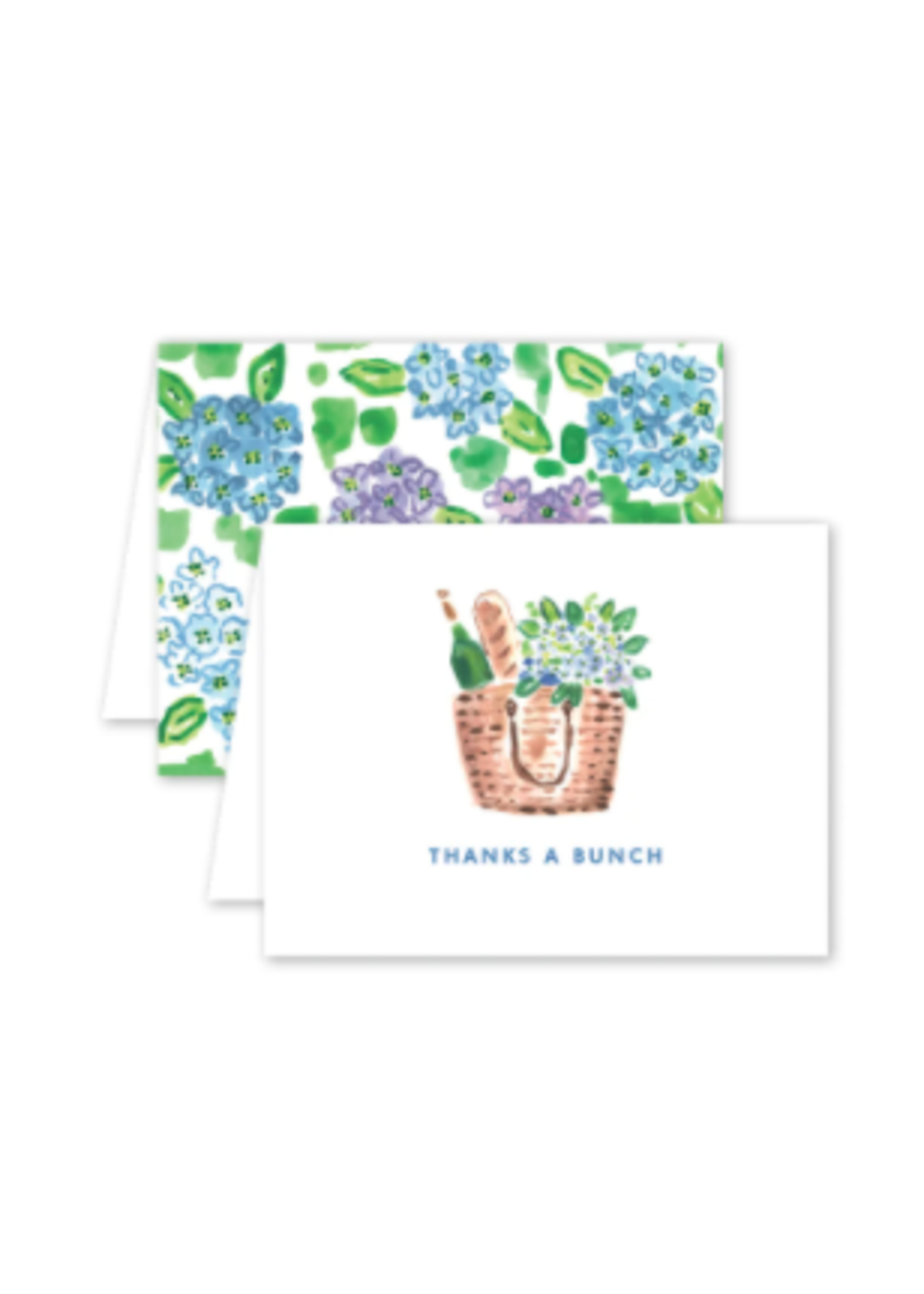 Dogwood Hill Card - Nantucket Hydrangeas Thank you