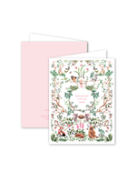 Dogwood Hill Card - Woodland Baby Pink