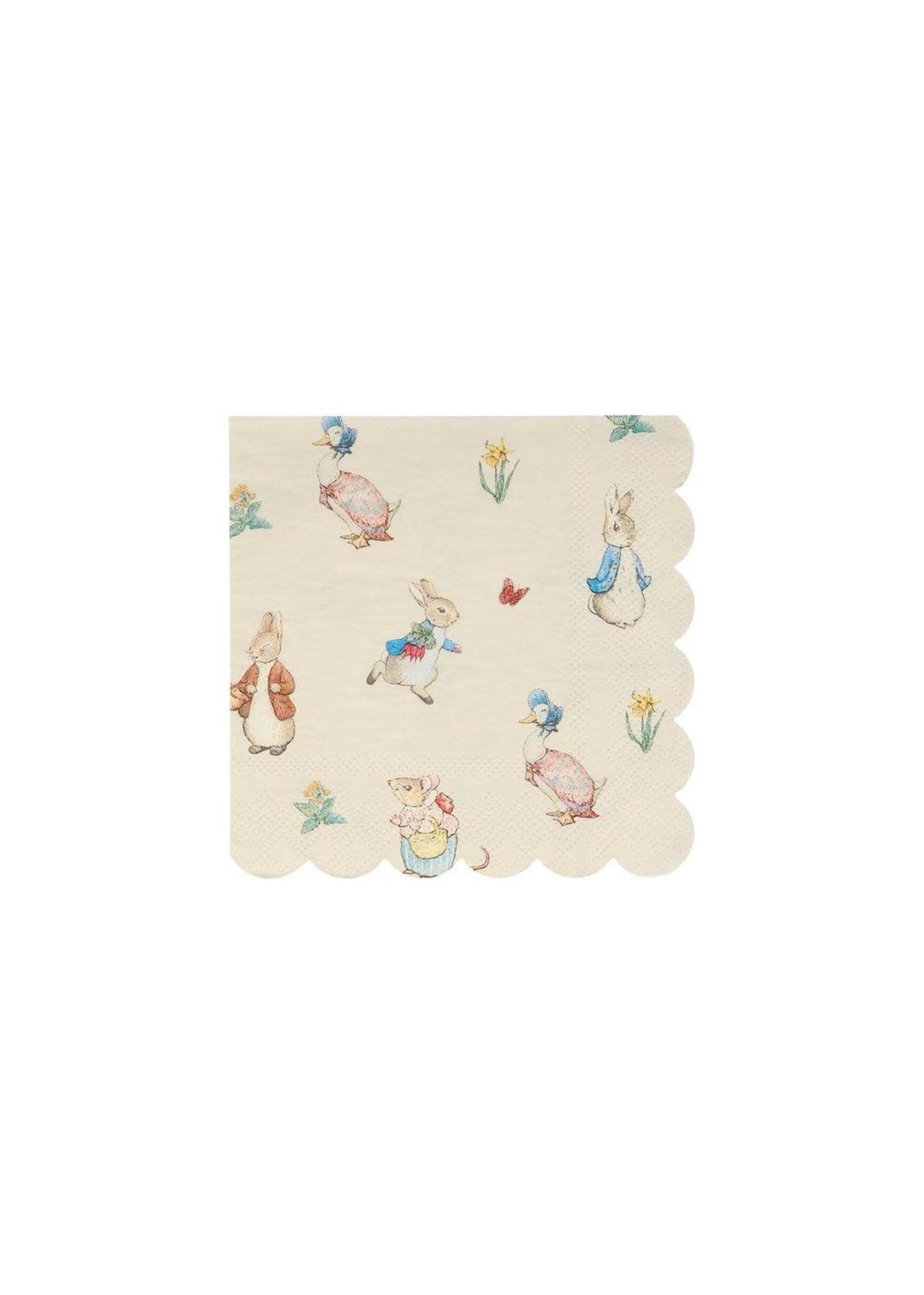Meri Meri Paper Napkin - Peter Rabbit & Friends Small