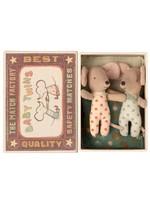 Maileg Baby Mice - Twins in Matchbox
