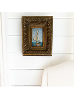 Antique Sailboat Painting