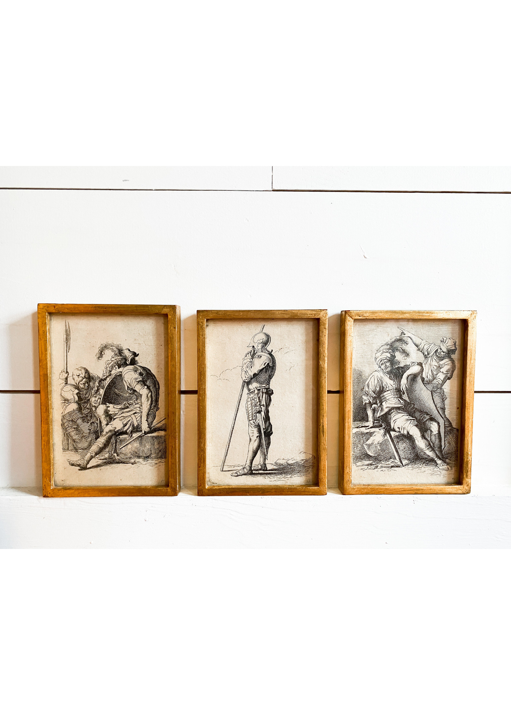 Antique Antique Rembrandt Etchings Early 18th c.