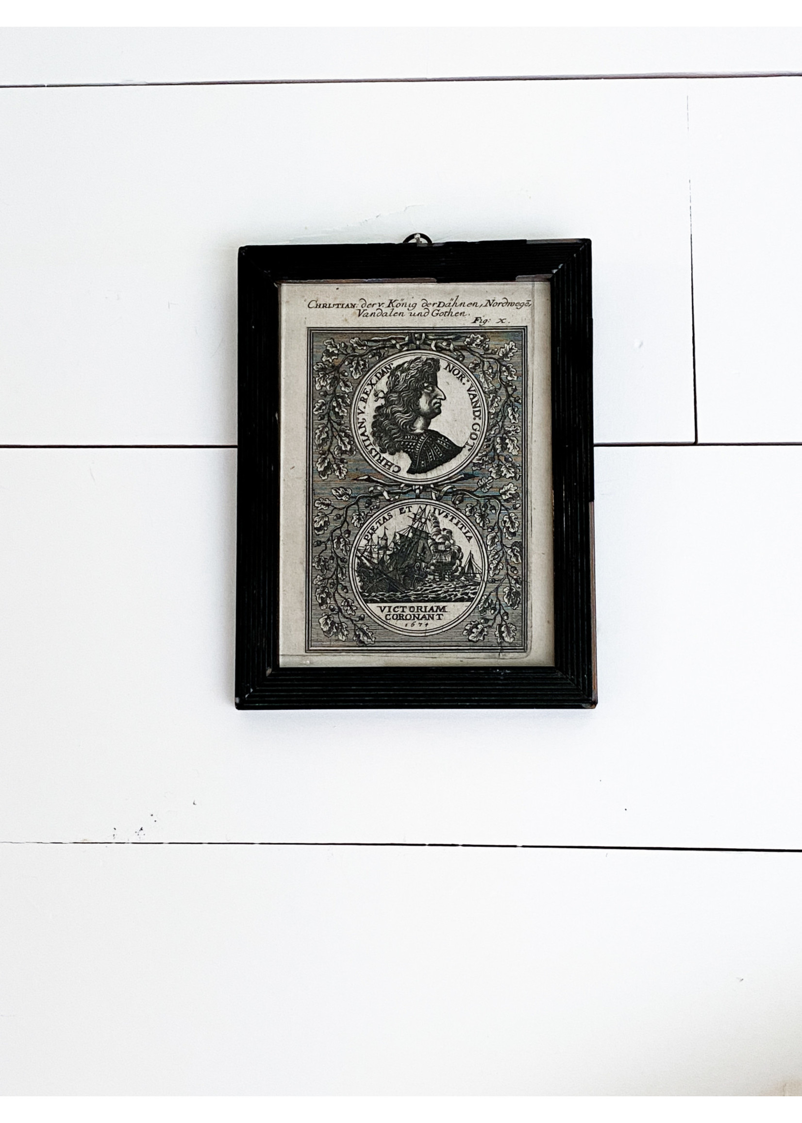 Antique Early 17th c. Etchings (pair)