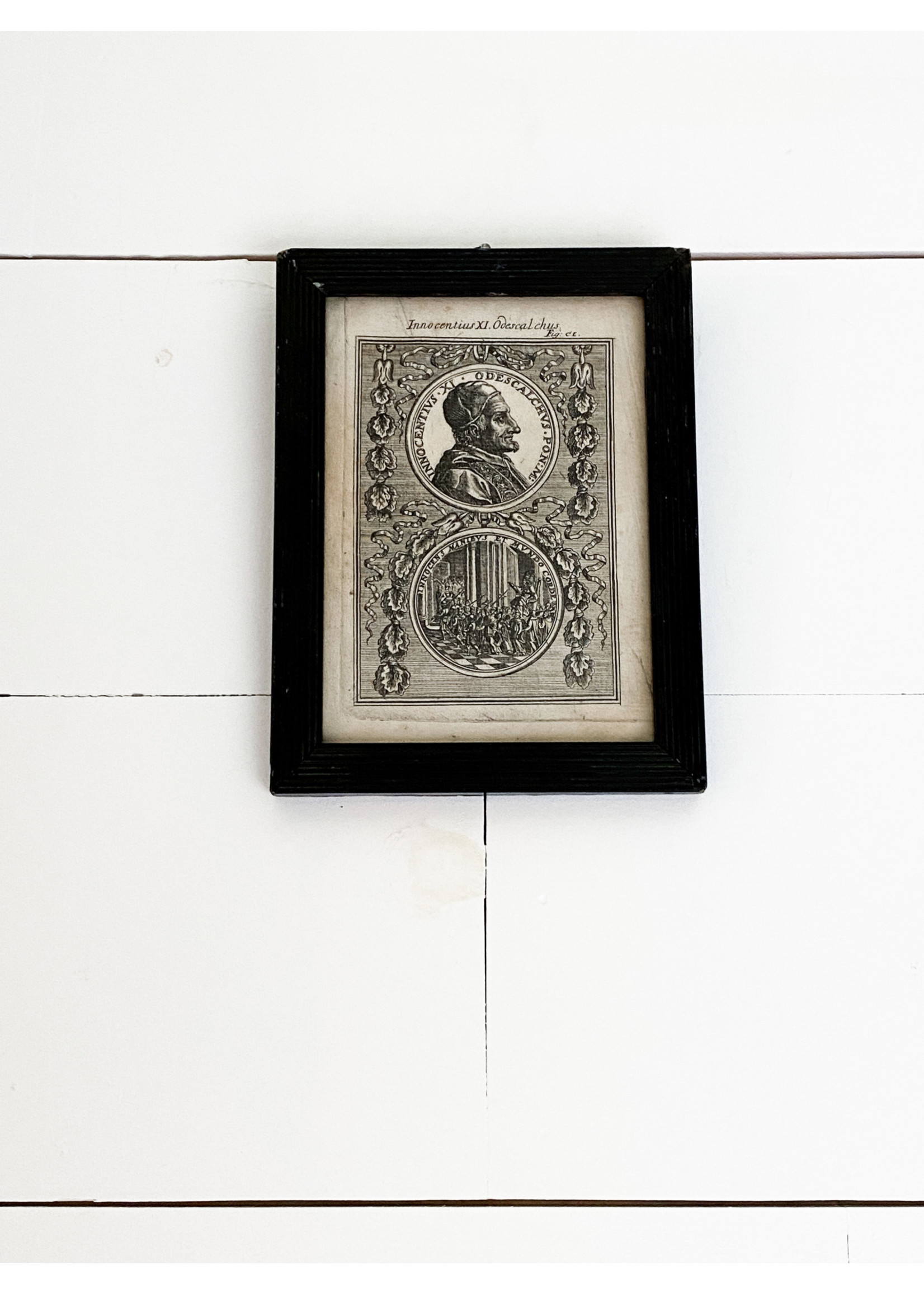Antique Antique Early 17th c. Etchings (pair)
