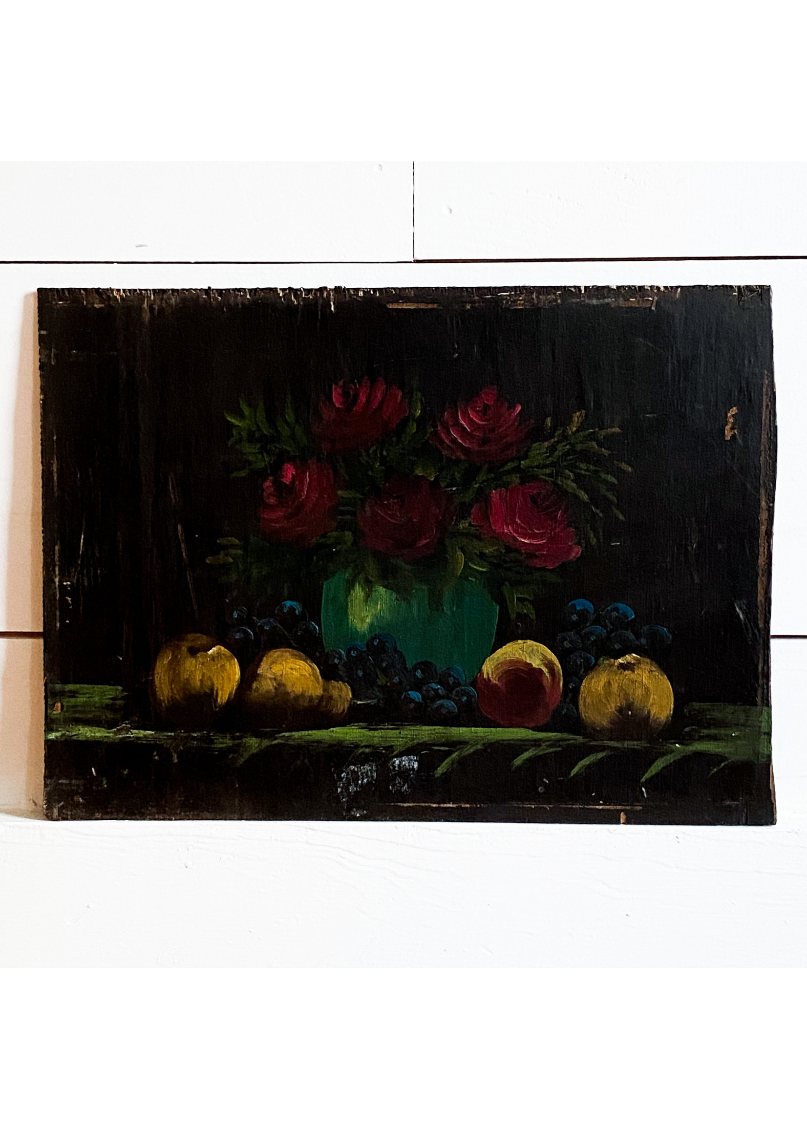 Antique Still Life Painting - No Frame