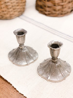 Antique Antique Silverplate Candlesticks (pair)