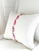 Antique Antique European Linen Pillow