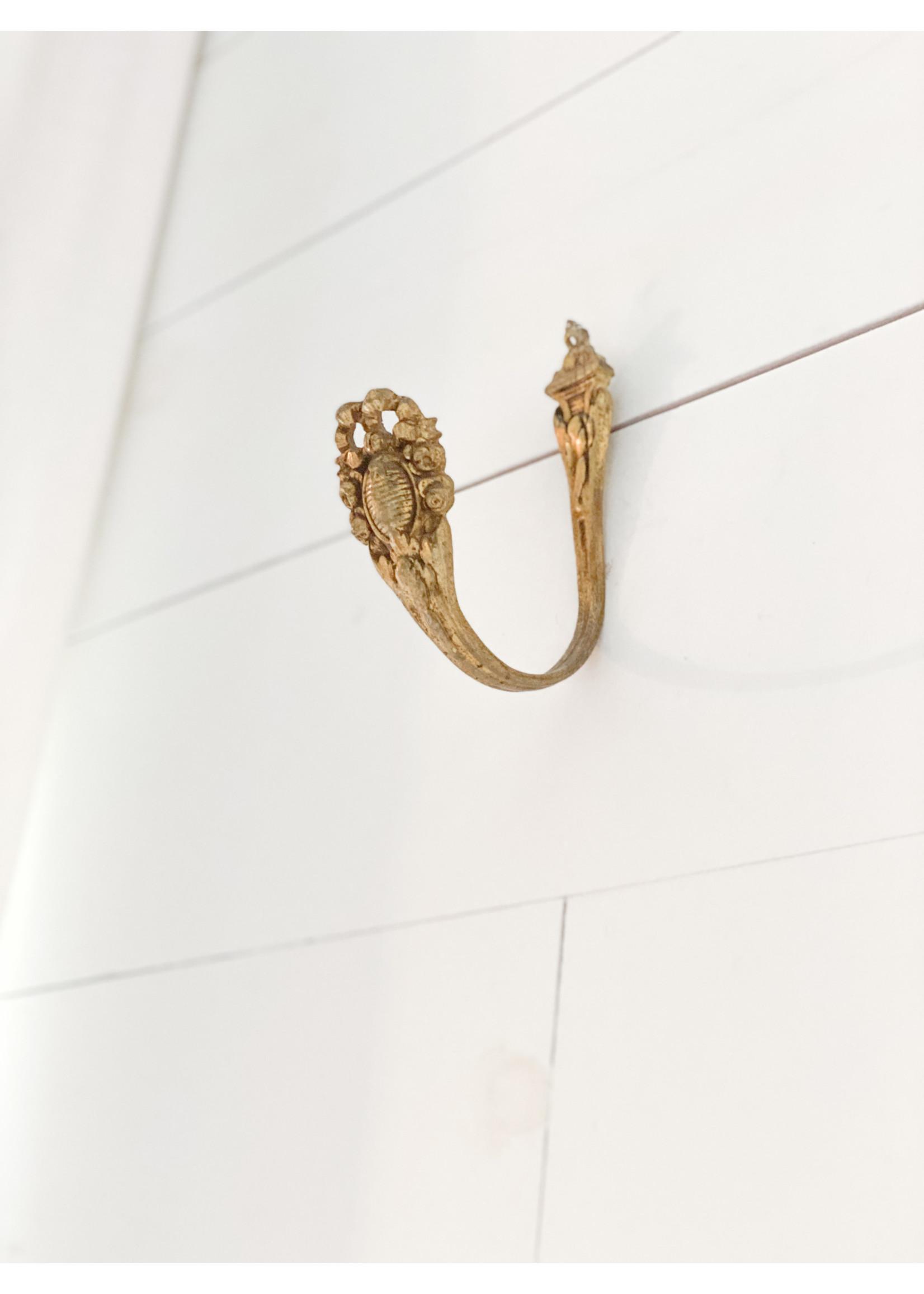 Antique Antique Curtain Pull Back/Hook (pair)
