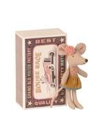 Maileg Little Sister - Matchbox Mouse