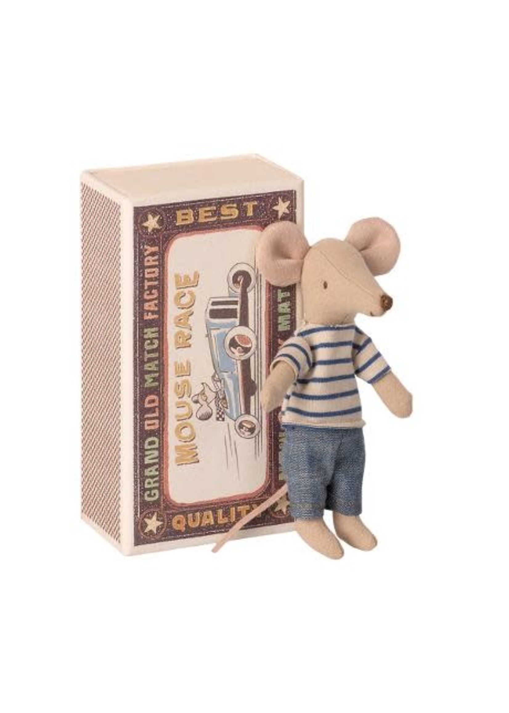 Maileg Big Brother - Matchbox Mouse