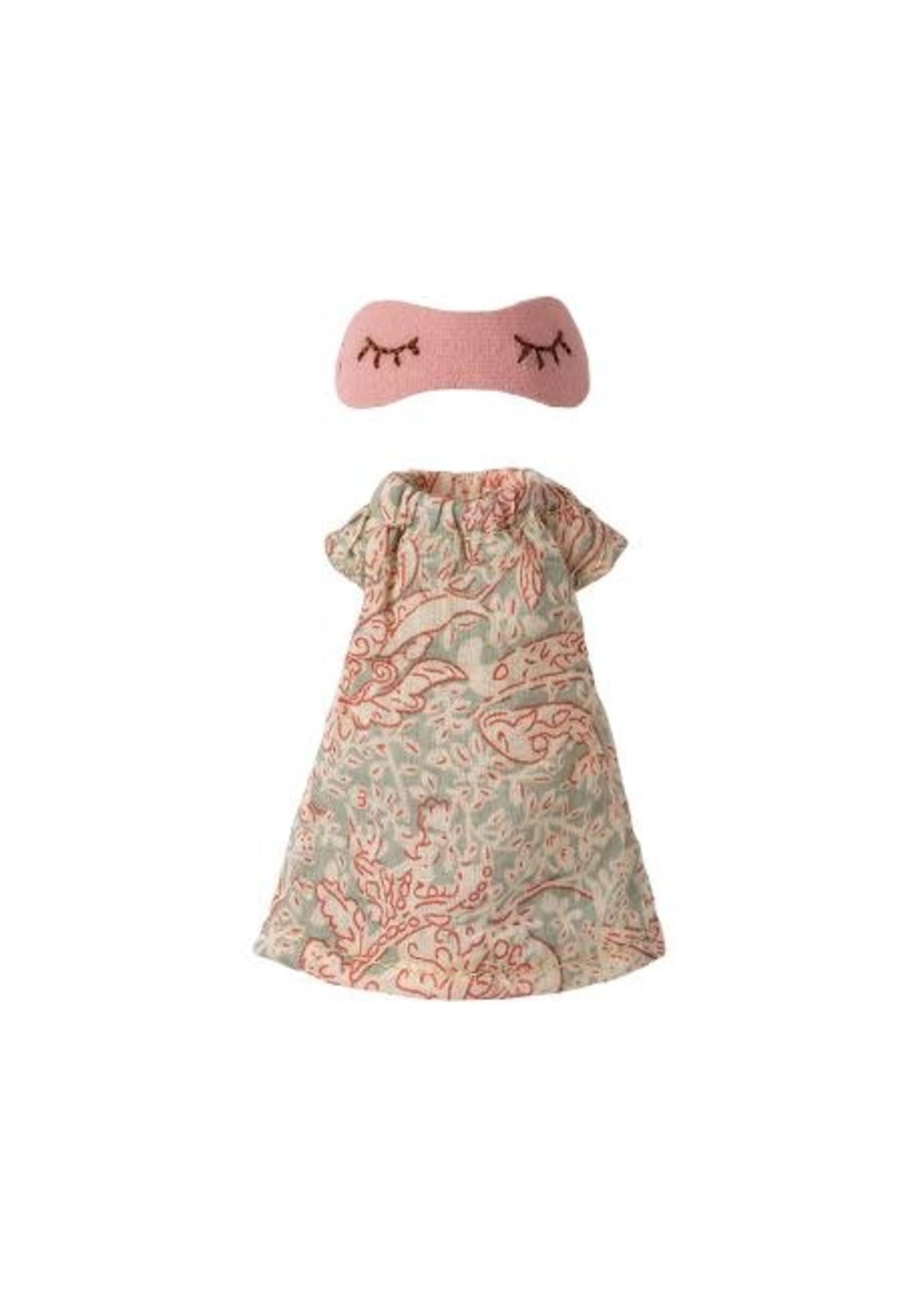 Maileg Mum & Dad Clothes - Nightgown for Mum