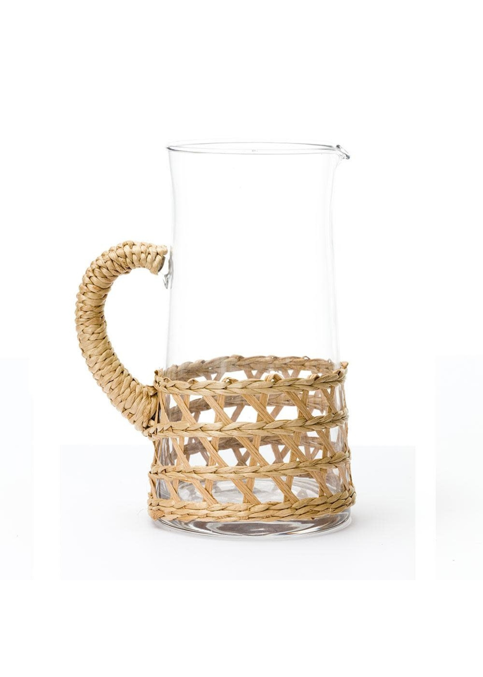 Amanda Lindroth Island Wrapped Pitcher - Natural