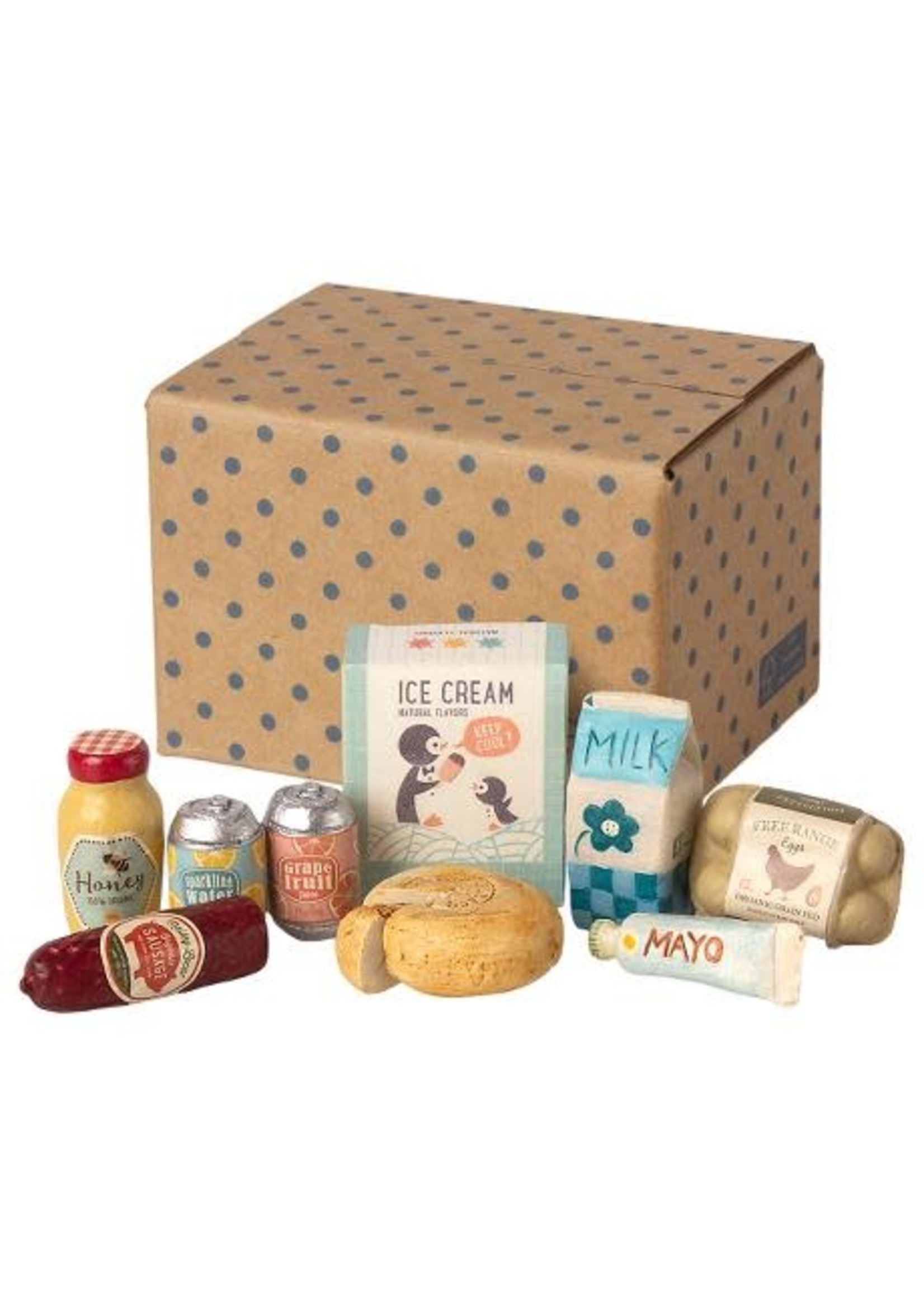 Maileg Mini Grocery Box
