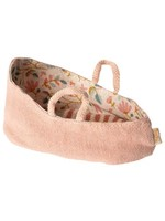 Maileg My Size Carry Cot - Misty Rose